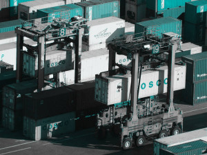 Containerabfertigung