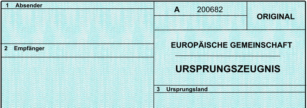 Das akkreditivkonforme Ursprungszeugnis - Trafima.de